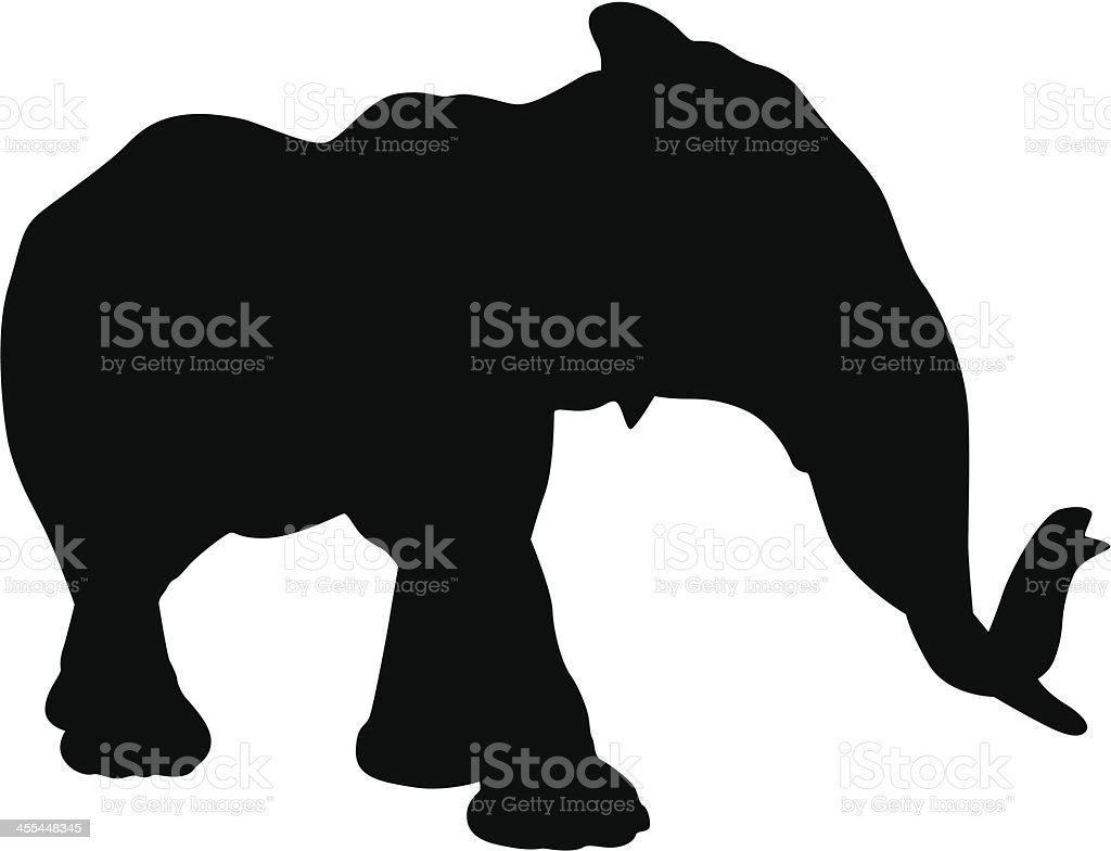 Elephant royalty-free elephant stock vector art & more images of africa