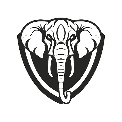 Elephant Vector Stock Vector Art & More Images of Animal