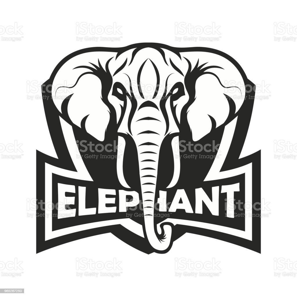 Elephant vector elephant vector - stockowe grafiki wektorowe i więcej obrazów bez ludzi royalty-free