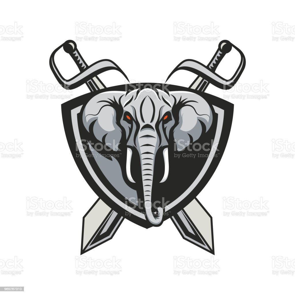 Elephant vector royalty-free elephant vector stock illustration - download image now