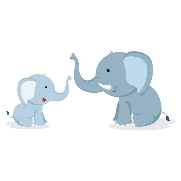 Baby Elephant Illustrations, Royalty-Free Vector Graphics ...