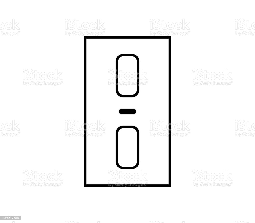 elevator buttons stock vector art more images of control panel rh istockphoto com
