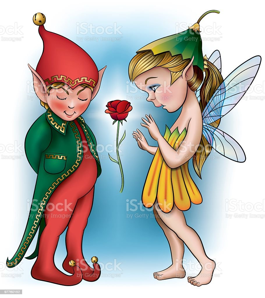 Elf and Fairy royalty-free elf and fairy stock vector art & more images of animal body part
