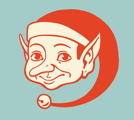 Elf Wearing a Cap