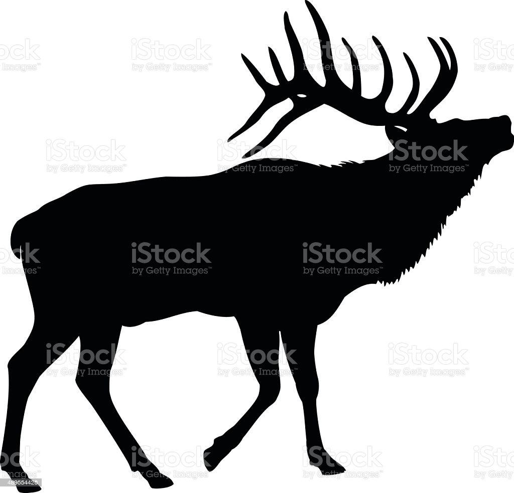 royalty free elk clip art vector images illustrations istock rh istockphoto com elk clip artist for free elk clip art wildlife images