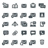Email and Messaging Icons