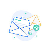 istock Email and messaging 1190961140