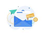 istock Email and messaging,Email marketing campaign 1191384870