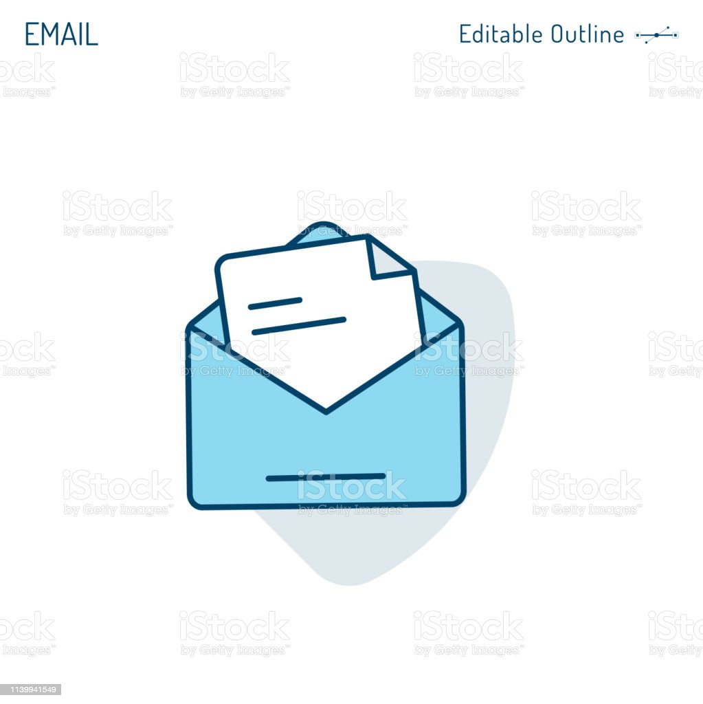 Email Icon Inbox Icon Contact Us Write To Us Receive Message