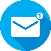 Email Icon Silhouette