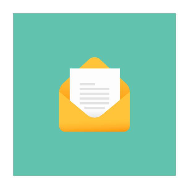 メールのアイコン - 手紙点のイラスト素材/クリップアート素材/マンガ素材/アイコン素材