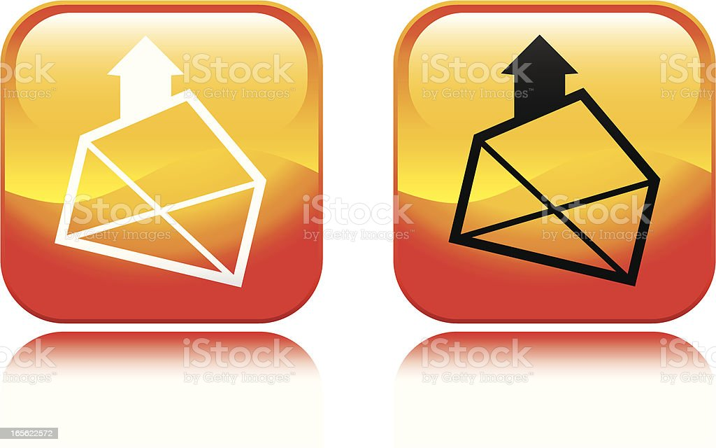 Email Icon vector art illustration