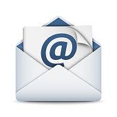E-mail icon, vector illustration