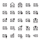 E-mail Icons & Symbols.