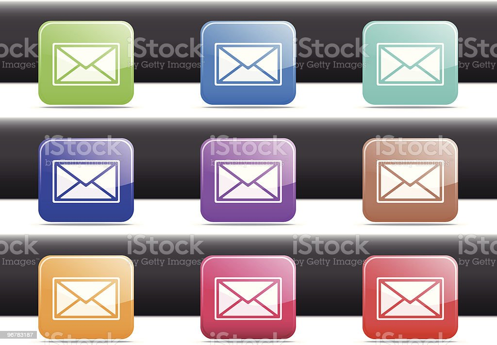 EMail Icons royalty-free email icons stock vector art & more images of arranging