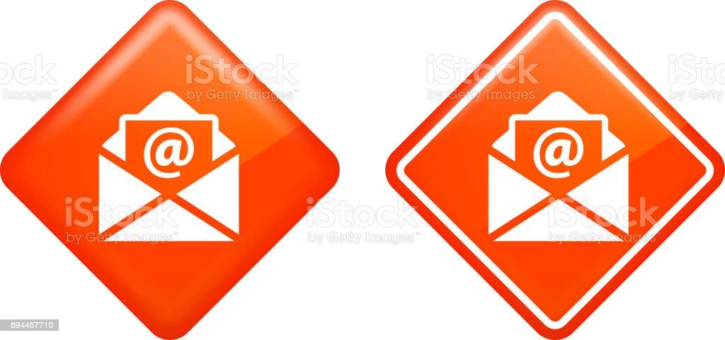 Email Letter. vector art illustration