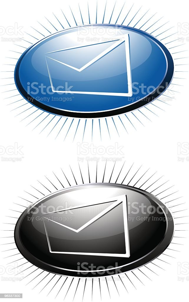 Email Logos ~ Vector royalty-free stock vector art