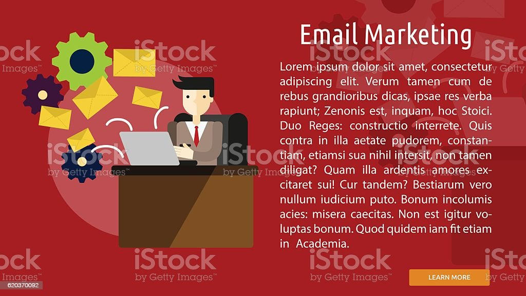 Email Marketing Conceptual Banner email marketing conceptual banner - arte vetorial de stock e mais imagens de adulto royalty-free