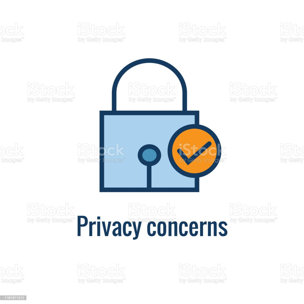 Email Privacy Rules And Regulations Icon W Email Marketing