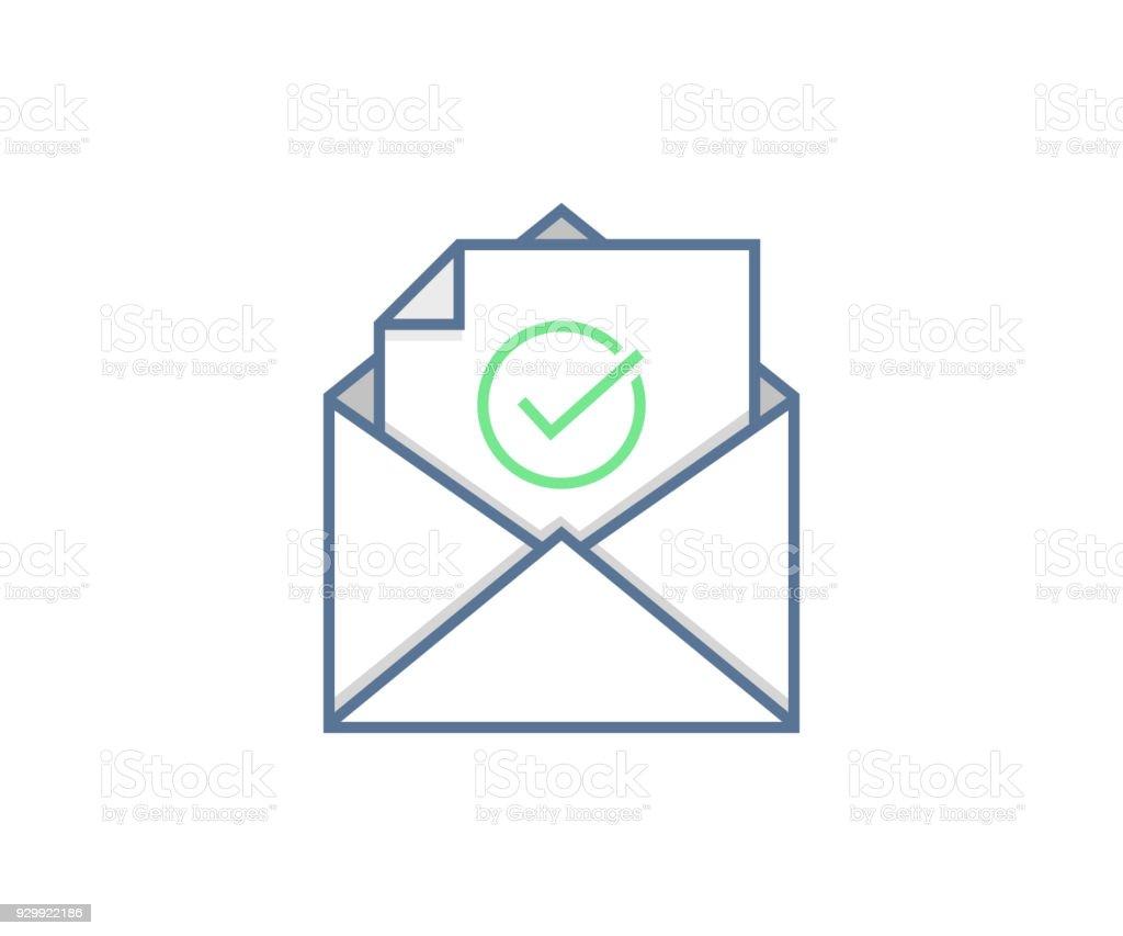 Dessin D Enveloppe notion dicône courriel envoyés ou reçus enveloppe avec dessin de