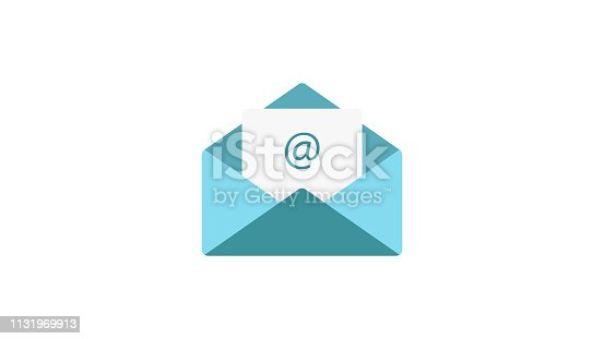 Email vector flat Icon
