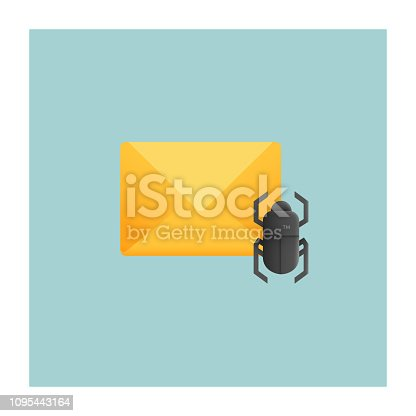 E-mail Virus Icon