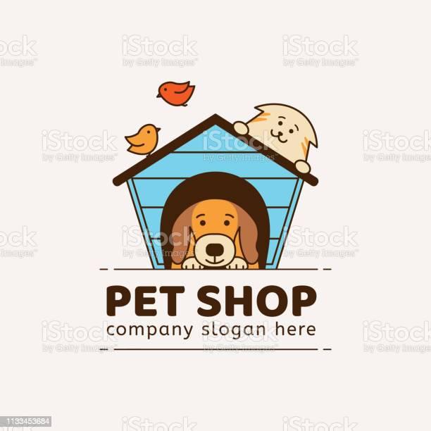 Emblem for pet shop veterinary clinic animal shelter vector id1133453684?b=1&k=6&m=1133453684&s=612x612&h=hmvoocnquvpdfrvsum2bzcbvvvferrhu3 w76pszmw8=