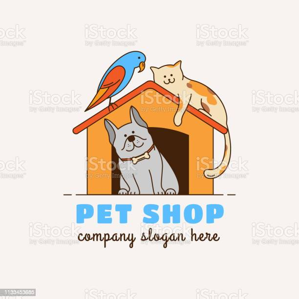 Emblem for pet shop veterinary clinic animal shelter vector id1133453685?b=1&k=6&m=1133453685&s=612x612&h=jzbpq7lzq1hxcn69bb6o8oaliokl5 tmkmfifnsrd w=