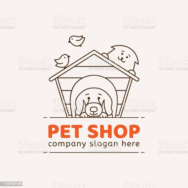 Emblem for pet shop veterinary clinic animal shelter vector id1148192156?b=1&k=6&m=1148192156&s=612x612&h=epjp248vdtm z p6wlojsvdne tozjrp6edgs8e83ko=