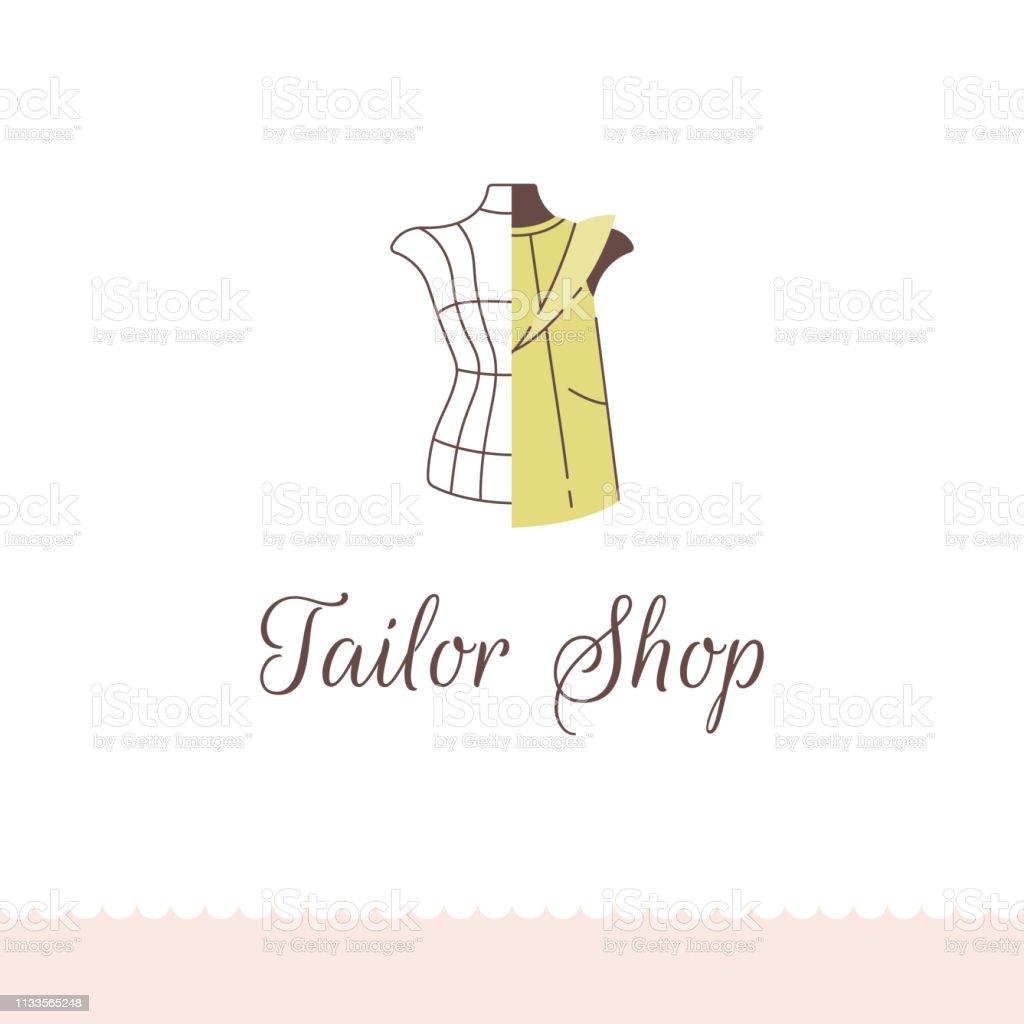 Embleme Pour La Boutique De Tailleur Salon De Couturiers