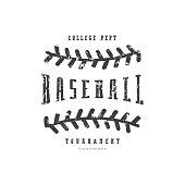 Emblem of baseball team