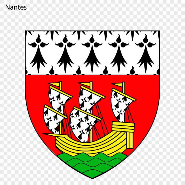 illustrations, cliparts, dessins animés et icônes de emblème de nantes - nantes