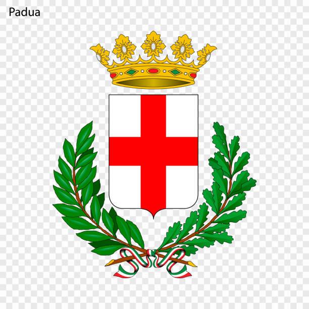 emblem von padua - padua stock-grafiken, -clipart, -cartoons und -symbole