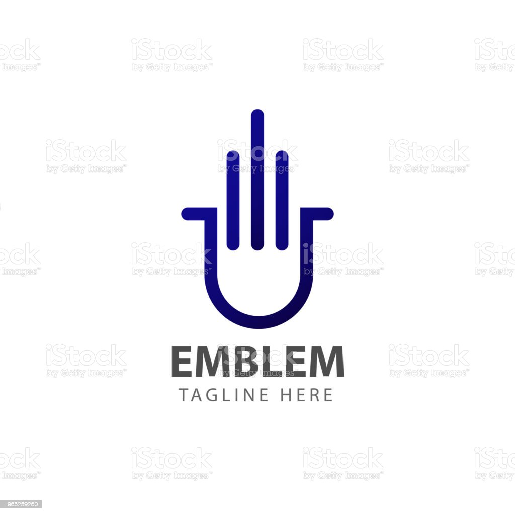 Emblem Vector Template Design royalty-free emblem vector template design stock vector art & more images of archival