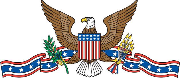 USA Emblem with Eagle