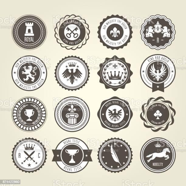 Emblems blazons and heraldic badges round labels vector id874422860?b=1&k=6&m=874422860&s=612x612&h=zbz2fqh 7zvym7x1ujtjap7 vgkezxb5hz xkzgc yg=