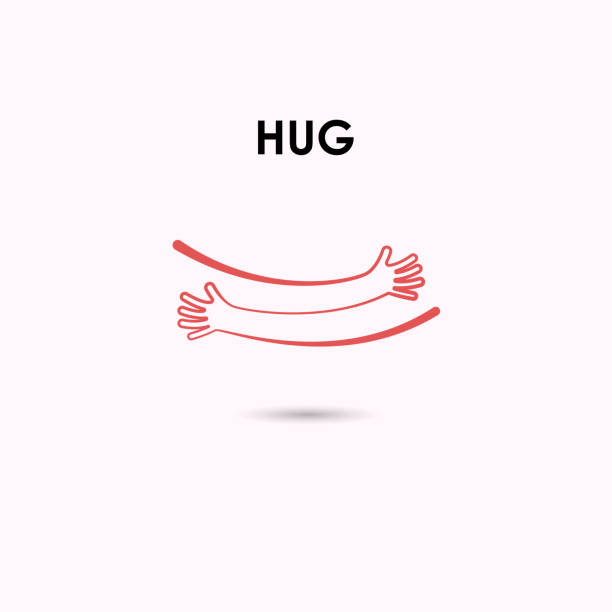 Royalty Free Hugging Clip Art Vector Images Illustrations Istock