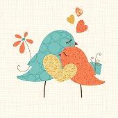 Embracing Birds