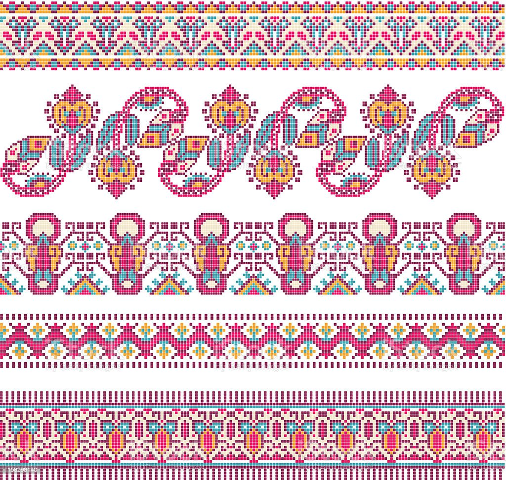 embroidery royalty-free embroidery stock vector art & more images of abstract