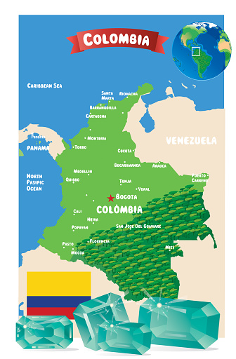 Emerald and Colombia