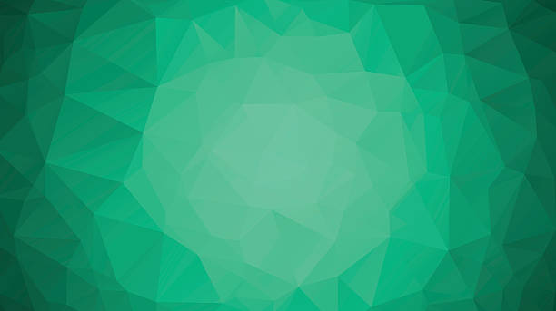 Emerald green abstract polygonal geometric background  Low poly  vector  art illustration. Emerald Green Clip Art  Vector Images   Illustrations   iStock