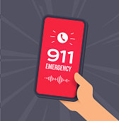 istock Emergency 911 Cell Phone Call 1288114364