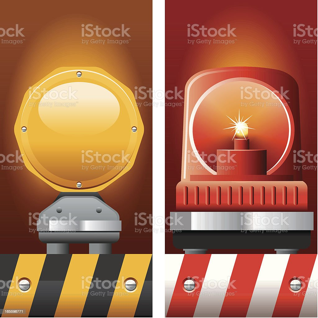 Emergency Service Beacon royalty-free emergency service beacon stock vector art & more images of alertness