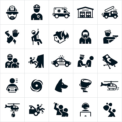Emergency Services Icons