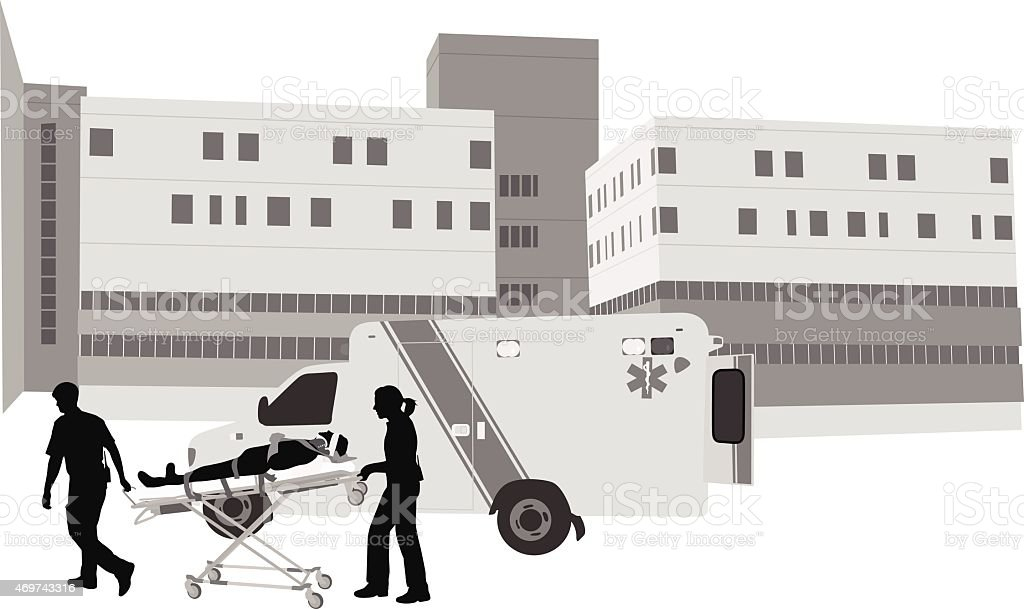 EmergencyMedical vector art illustration