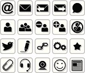 E-Messaging Icons