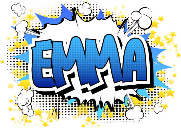 royalty free personal name emma clip art vector images