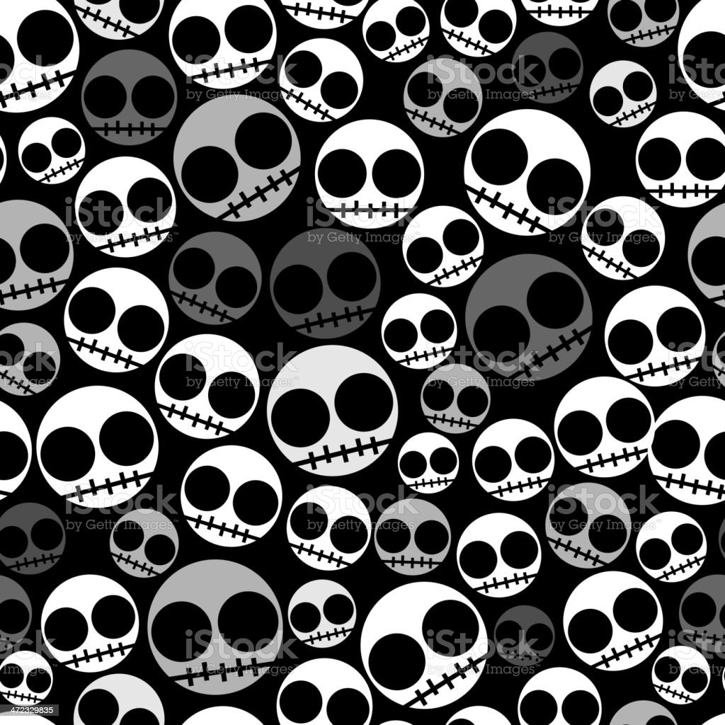 Emo Seamless Pattern Stock Vector Art & More Images Of