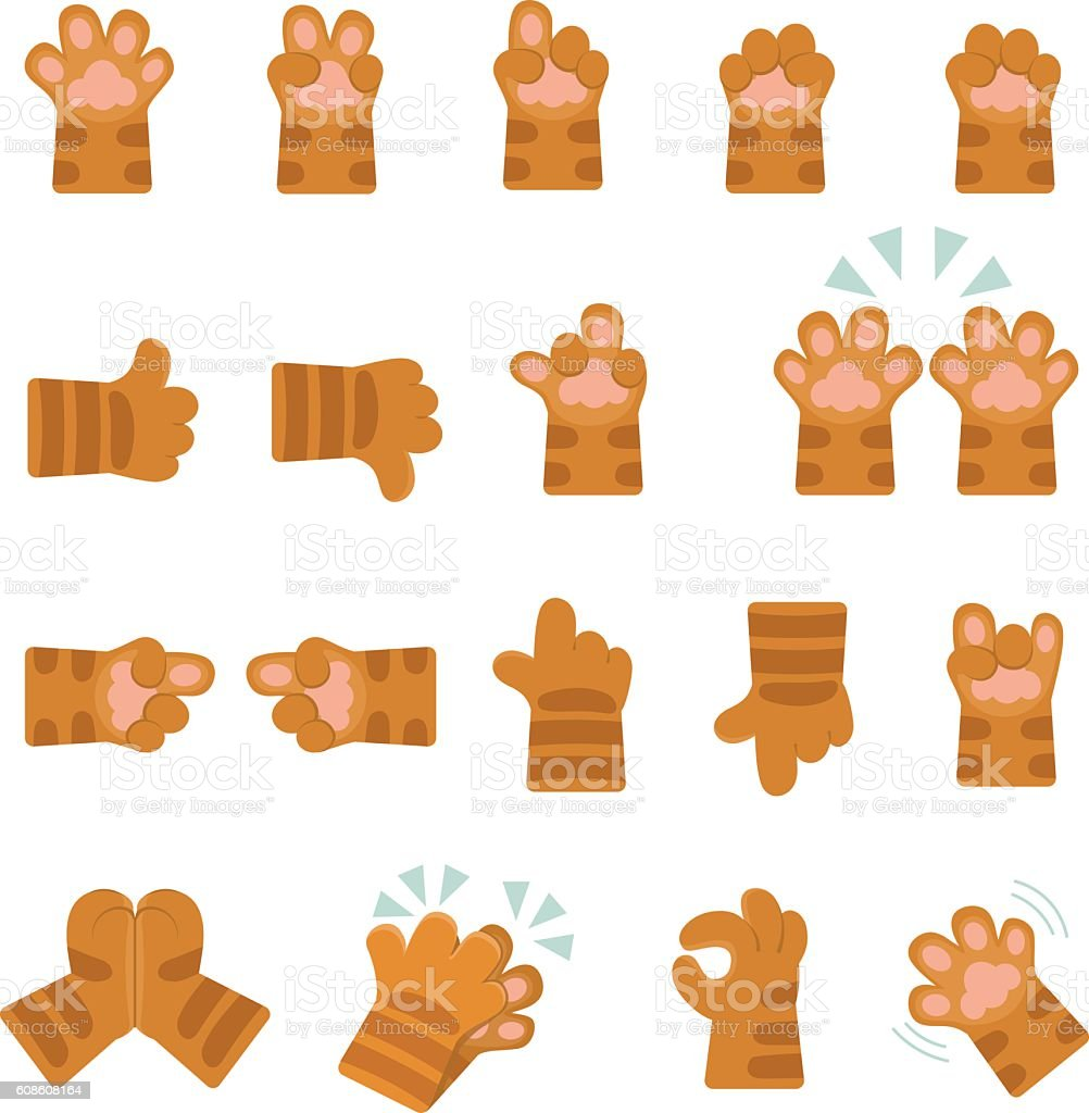 Emoji collection vector art illustration