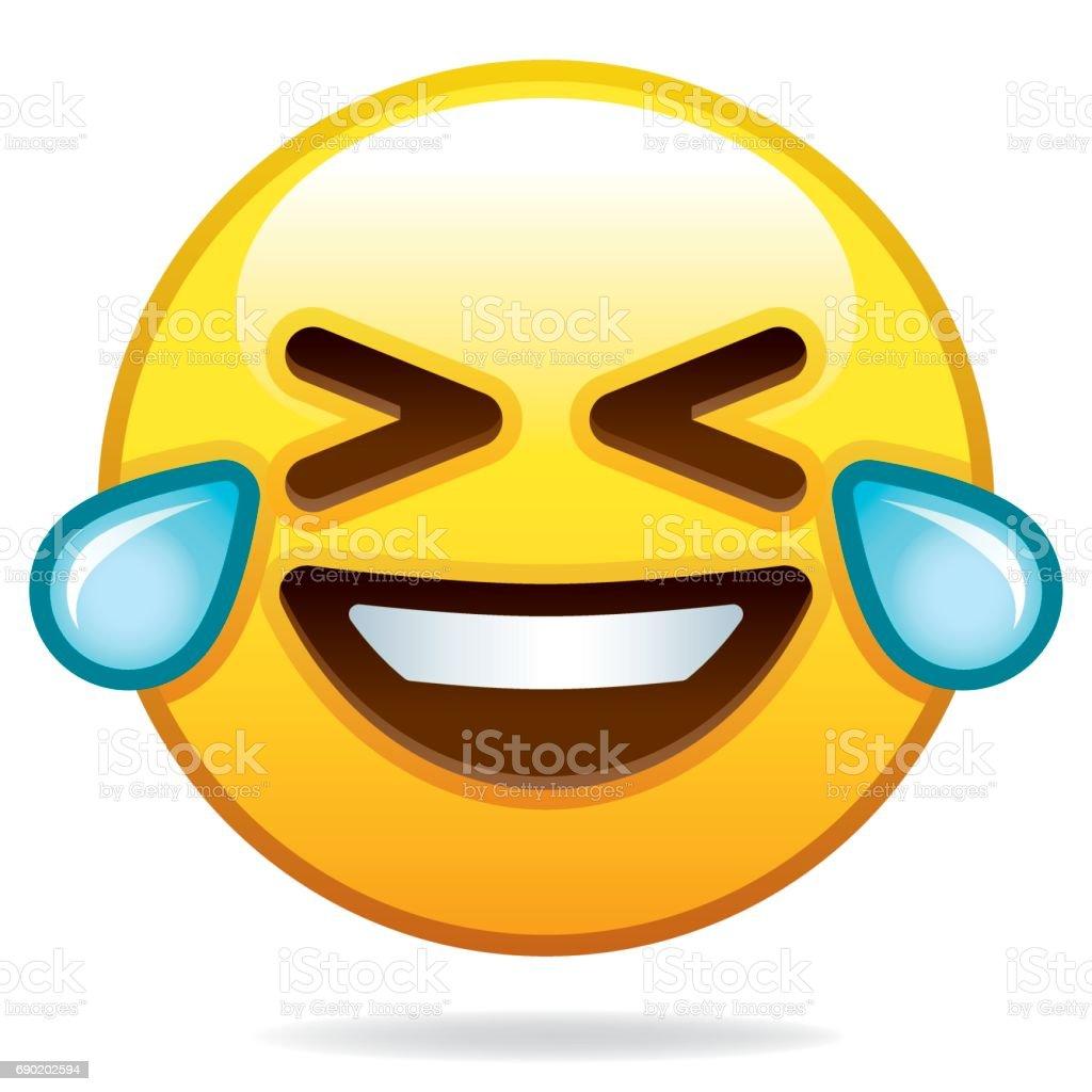 Emoji icono - ilustración de arte vectorial